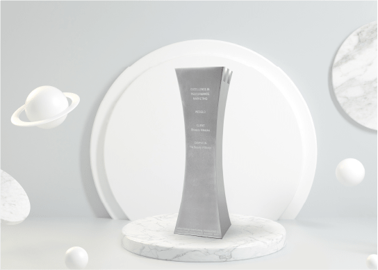Silver for Excellence in Performance Marketing 2017 for Shiseido Malaysia