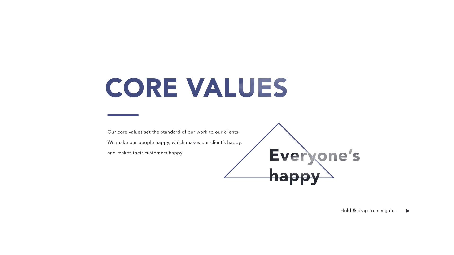 Webqlo - Core Values