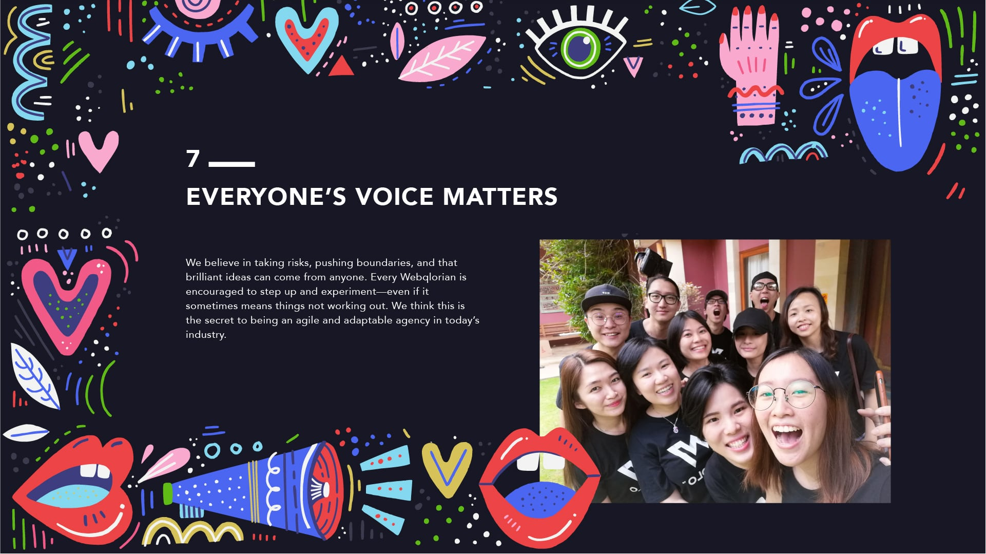 Everyone's Voice Matters