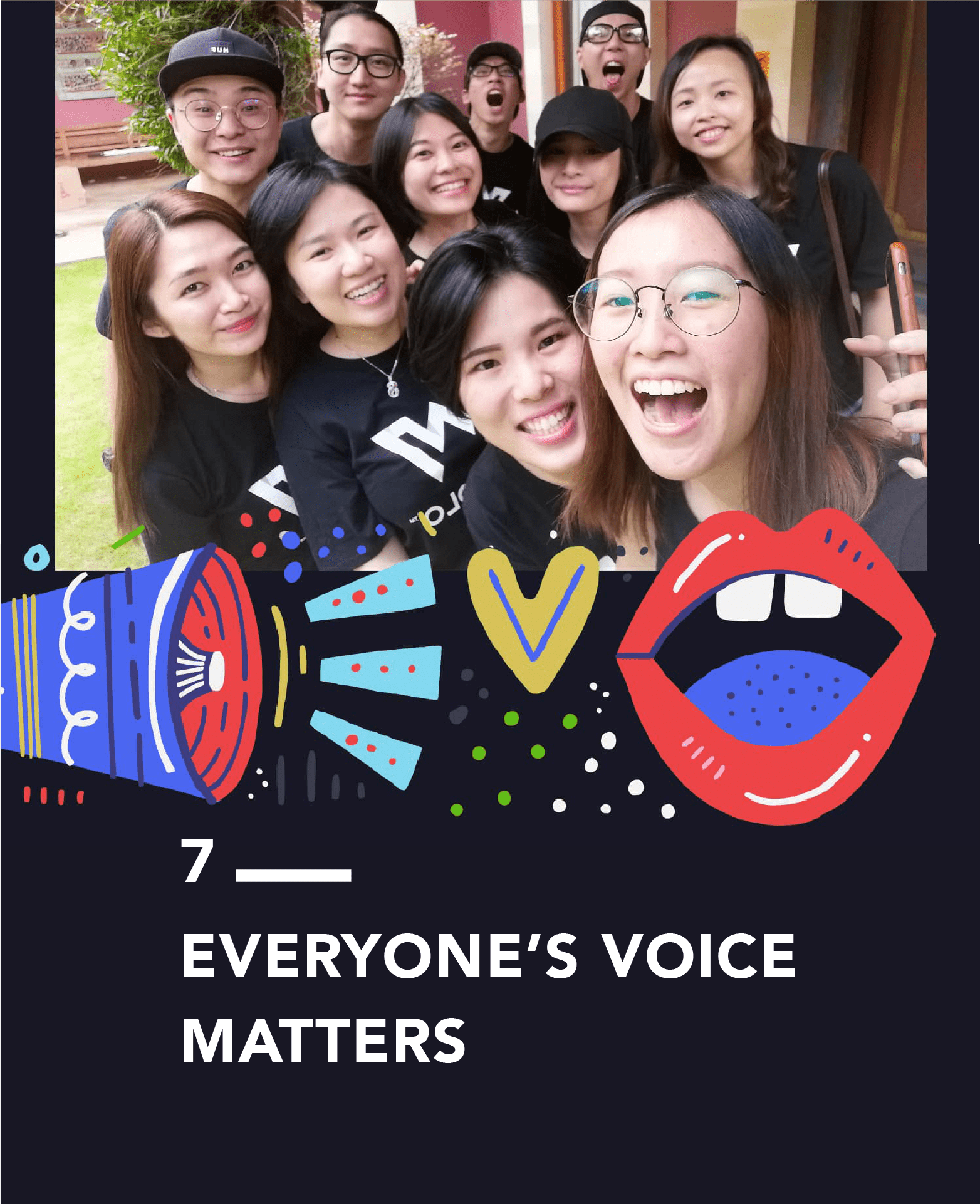 Everyone's Voice Matter