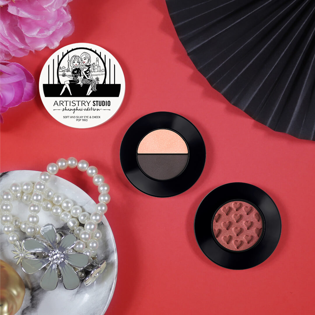 ARTISTRY STUDIO Shanghai Edition Soft and Silky Eye & Cheek Pop Trio