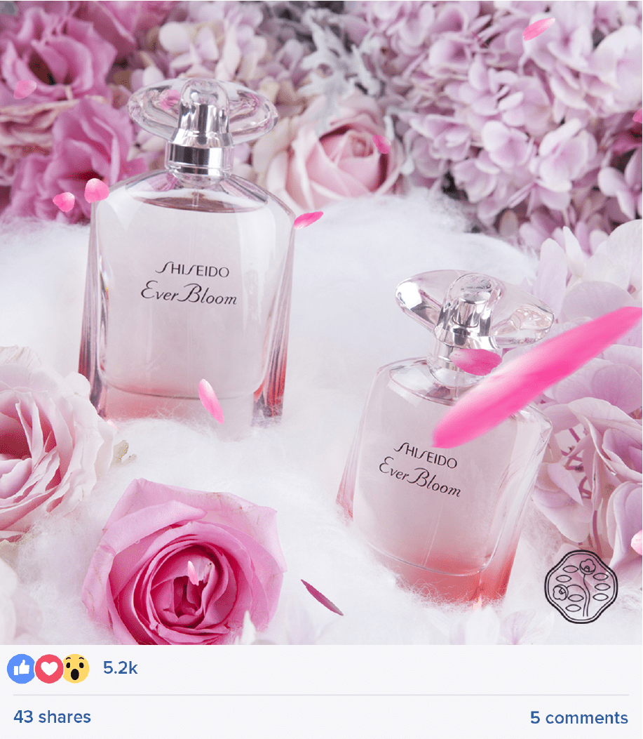 Shiseido Tactical Campaign Posts 3