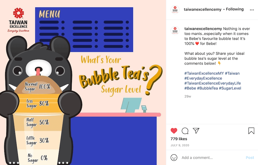 Taiwan Excellence Instagram Posts