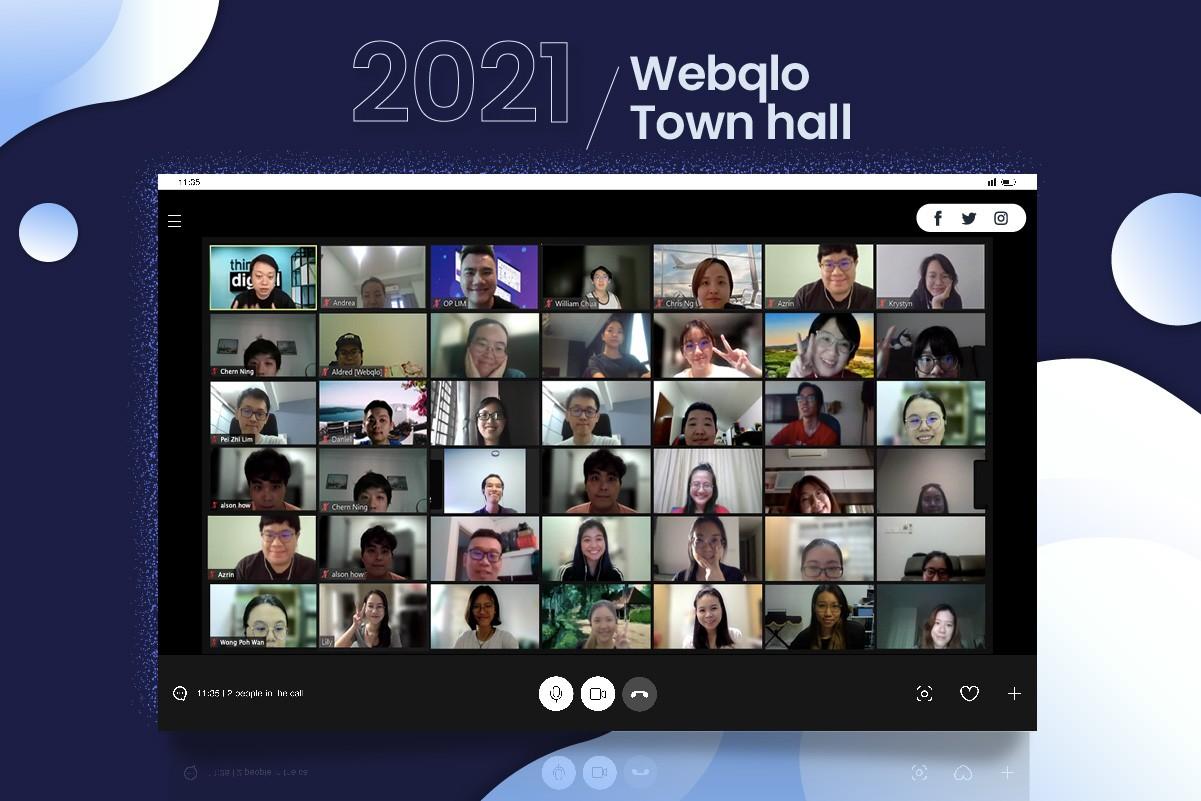 Webqlo Virtual Town Hall